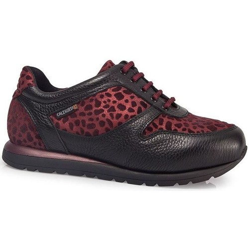 Shoes Women Low top trainers Calzamedi ORO BORDEAUX SPORTS SHOES W BORDEAUX