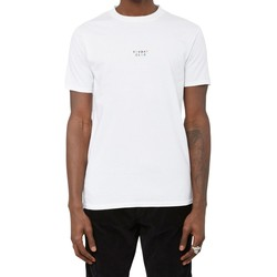 Clothing Men short-sleeved t-shirts The Idle Man Embroidered Sunday Club T-Shirt White White
