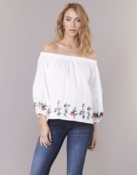 Clothing Women Tops / Blouses Moony Mood IFITI White