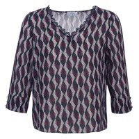 Clothing Women Tops / Blouses Casual Attitude IDENOQO Marine