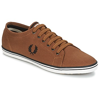 Shoes Men Low top trainers Fred Perry KINGSTON TWILL Brown