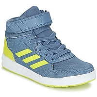 Shoes Boy Hi top trainers adidas Performance ALTASPORT MID EL K Blue