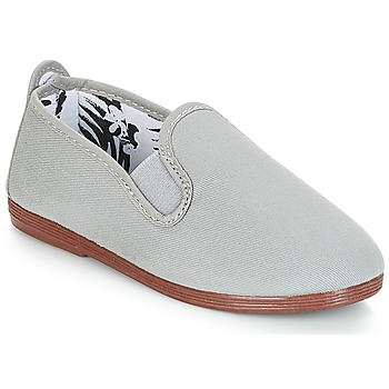 Shoes Children Slip ons Flossy PAMPLONA Grey