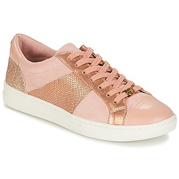 Shoes Women Low top trainers Dune EGYPT Pink / Gold