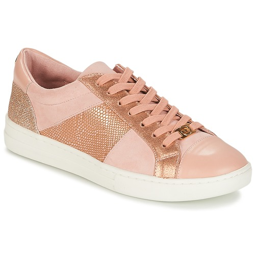 Shoes Women Low top trainers Dune London EGYPT Pink / Gold