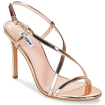 Shoes Women Sandals Dune MADENNA Pink / Gold