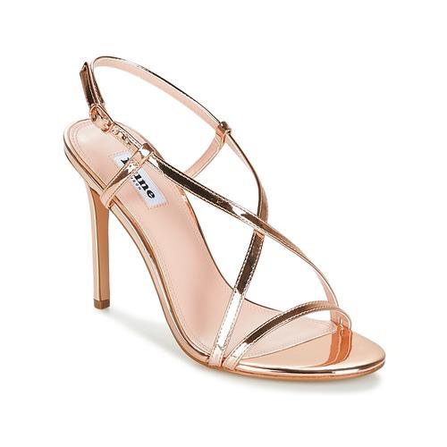 Shoes Women Sandals Dune London MADENNA Pink / Gold