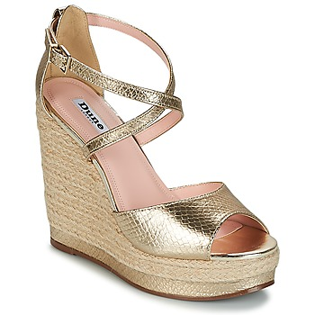 Shoes Women Sandals Dune KANDIS Gold