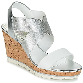 Shoes Women Sandals Dune London KALIFORNIA Silver