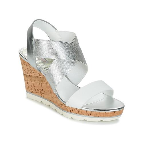 Shoes Women Sandals Dune London KALIFORNIA Silver