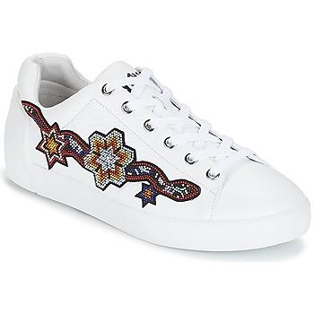 Shoes Women Low top trainers Ash NIKITA White