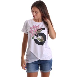 Clothing Women short-sleeved t-shirts Y Not? 17PEY081 T-shirt Women White White