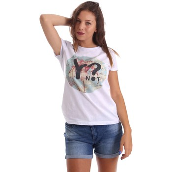 Clothing Women short-sleeved t-shirts Y Not? 17PEY117 T-shirt Women White White