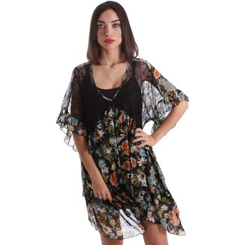 Clothing Women Short Dresses Denny Rose 73DR21011 Dress Women Black Black