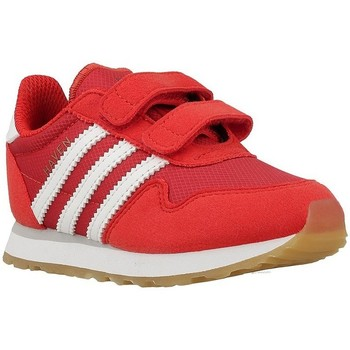 Shoes Children Low top trainers adidas Originals Haven CF I Red