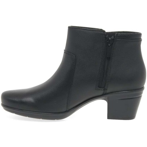 Shoes Women Boots Clarks Emslie Monet Womens Casual Ankle Boots black