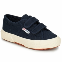 Shoes Children Low top trainers Superga 2750 STRAP Navy
