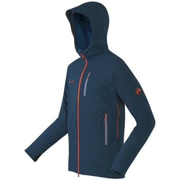 Clothing Men Fleeces Mammut Ultimate Nordpfeiler Navy blue