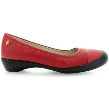 Shoes Women Flat shoes Softinos Florinda P900122 Red