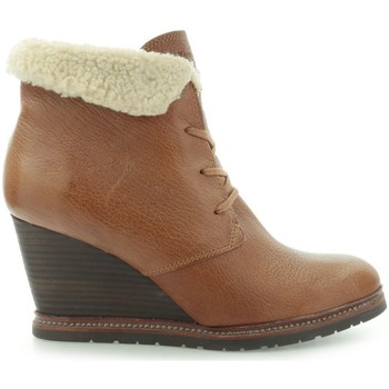 Shoes Women Ankle boots Marc O'Polo Marc Opolo Tumbled Kid Taupe