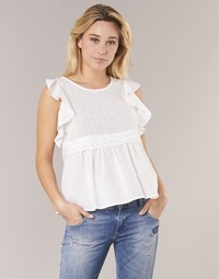 Clothing Women Tops / Blouses Betty London INNATOUNE White