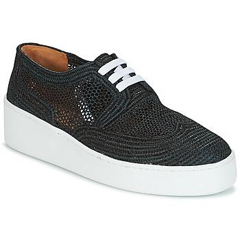 Shoes Women Low top trainers Robert Clergerie TAYPAYDE Black