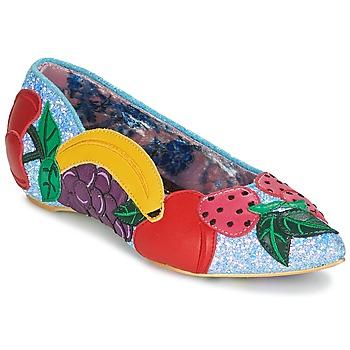 Shoes Women Flat shoes Irregular Choice BANANA BOAT Blue
