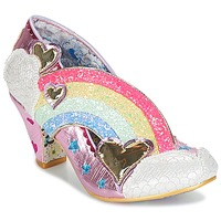 Shoes Women Heels Irregular Choice SUMMER OF LOVE Pink