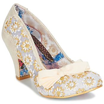 Shoes Women Heels Irregular Choice PALM COVE Beige