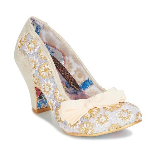 Shoes Women Heels Irregular Choice PALM COVE Beige