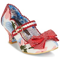 Shoes Women Heels Irregular Choice BALMY NIGHTS White / Red