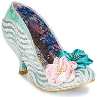 Shoes Women Heels Irregular Choice LITTLE PEACHES Green