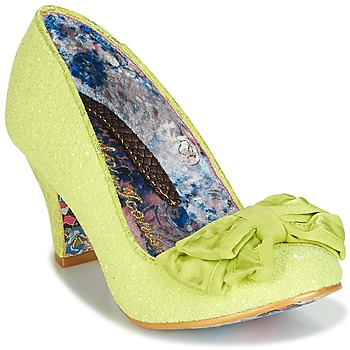 Shoes Women Heels Irregular Choice BANJOE Yellow