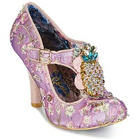 Shoes Women Heels Irregular Choice PEA PODS Lilac