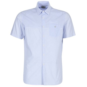 Clothing Men short-sleeved shirts Oxbow K1CAMINO Blue / Sky