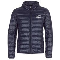 Clothing Men Duffel coats Emporio Armani EA7 CORE ID 8NPB02 Marine