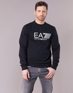 Clothing Men sweaters Emporio Armani EA7 TRAIN VISIBILITY Black