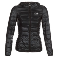 Clothing Women Duffel coats Emporio Armani EA7 TRAIN CORE LADY Black