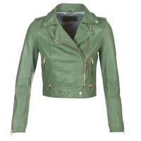 Clothing Women Leather jackets / Imitation leather Oakwood 62822 Kaki