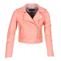 Clothing Women Leather jackets / Imitation leather Oakwood YOKO Coral