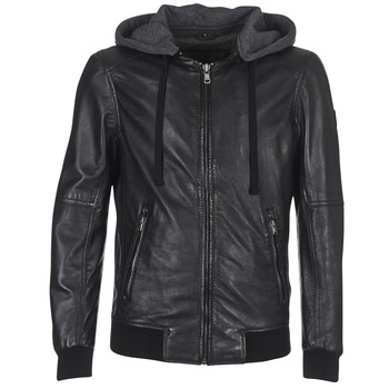 Clothing Women Leather jackets / Imitation leather Oakwood JIMMY Black