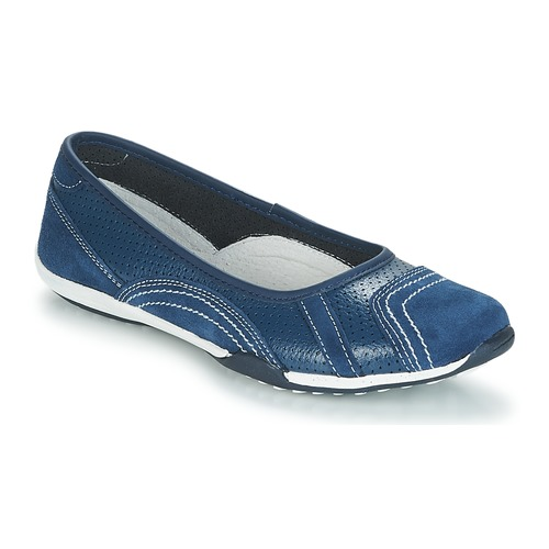 Shoes Women Flat shoes Spot on POLOLALE Marine