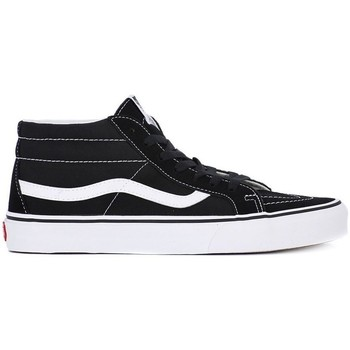 Shoes Men Hi top trainers Vans SK8 Mid Reissue Black