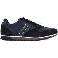 Shoes Men Low top trainers Tommy Hilfiger Maxwell Blue Black