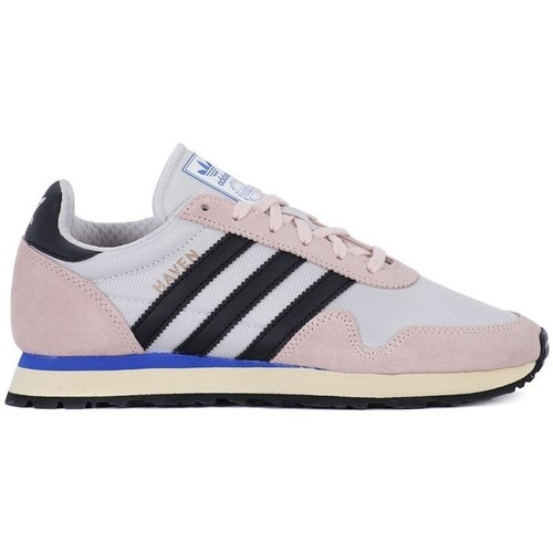 Shoes Women Low top trainers adidas Originals Haven W Pink-White