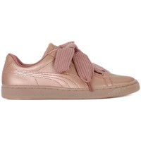 Shoes Women Low top trainers Puma Basket Heart Copper