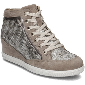 Shoes Women Hi top trainers Igi&co Igico Beige