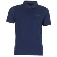 Clothing Men short-sleeved polo shirts Casual Attitude ITATATO Blue