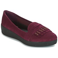 Shoes Women Flat shoes FitFlop LOAFER Purple