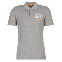 Clothing Men short-sleeved polo shirts Jack & Jones JORTRAST Grey